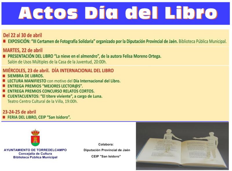 Cartel_Actos Dia del Libro