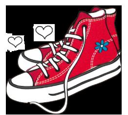 dibujo-zapatillas-rojas